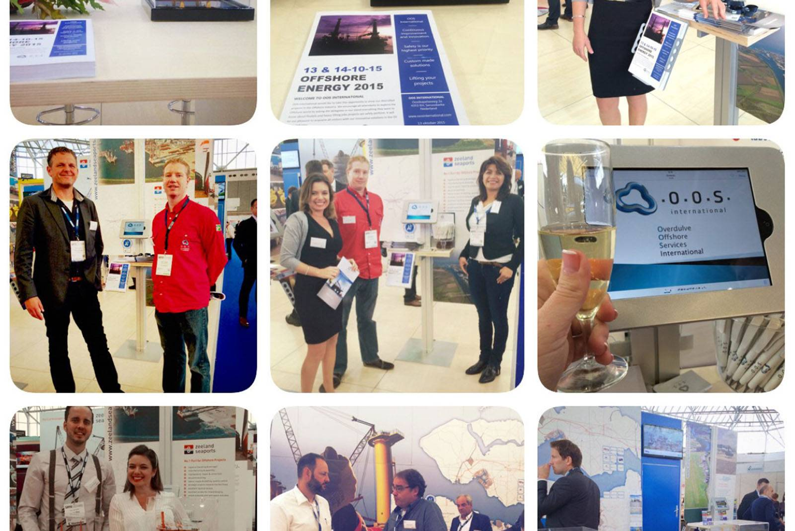 A successful first appearance at the Offshore Energy Exhibition & Conference 2015