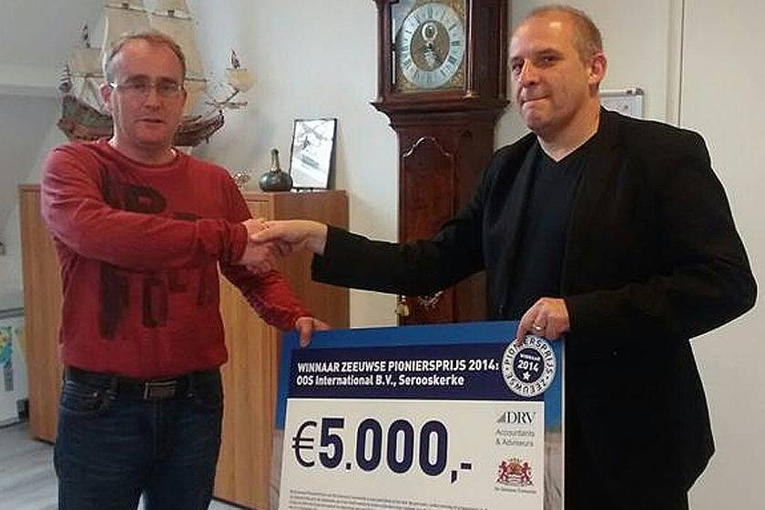 2015 – Financial support to film project in the province Zeeland, the Netherlands