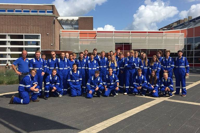OOS sponsors coveralls to first year students