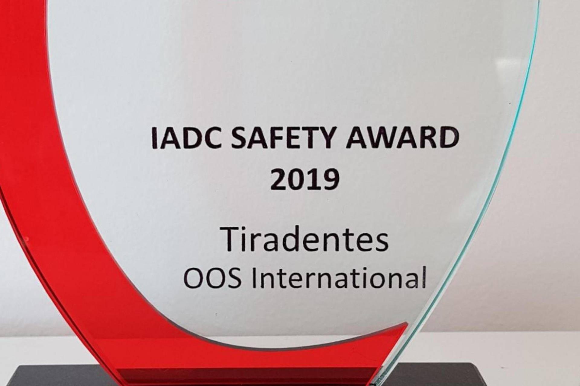 OOS Tiradentes Safety Award 2019