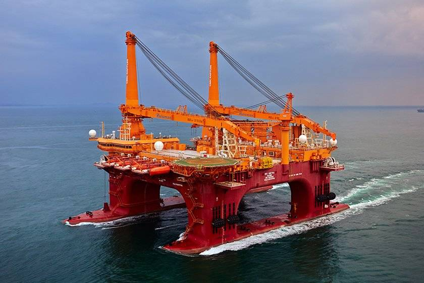 Subsea gangway lift by OOS Gretha