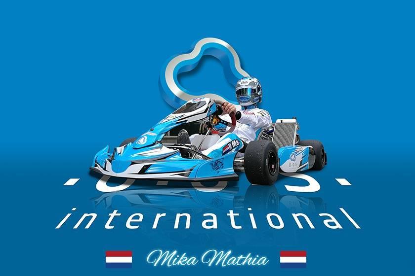 OOS International sponsors a Serooskerke kart talent